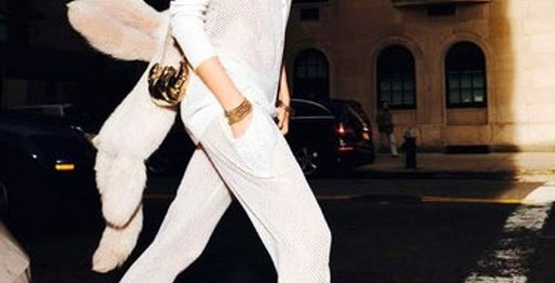 Beyaz pantolonlu 7 kombin!