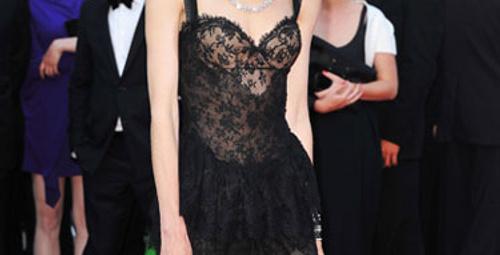 Cannes'taki en güzel elbiseler