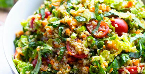 Kinoa Salatası nasıl yapılır?