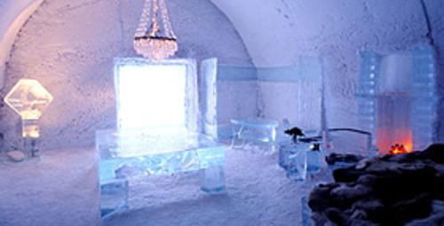 En romantik otel odaları