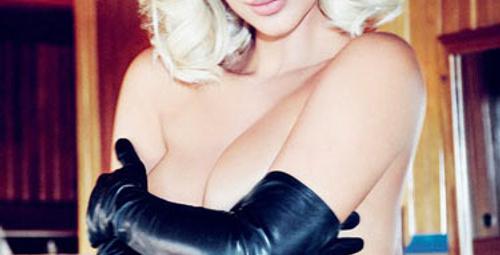 Kim Kardashian bu kez Marilyn Monroe oldu!