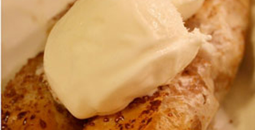 Yufkalı Vanilyalı Dondurma