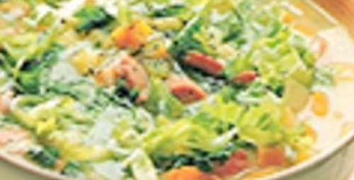 Pesto Soslu Sebze Çorbası