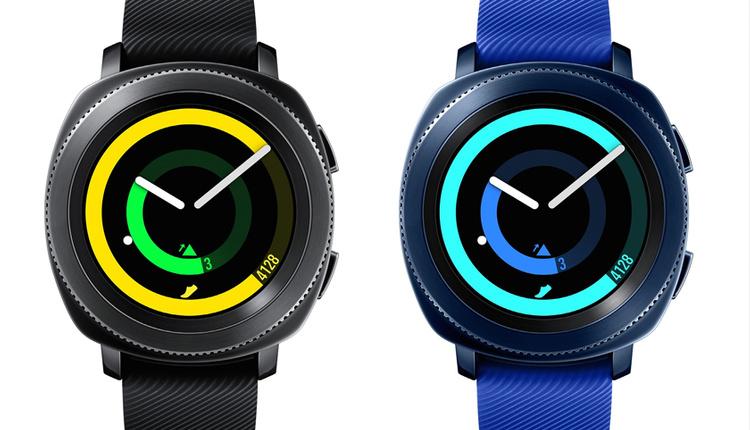 Samsung Gear Sport mavi ve siyah Türkiye satış fiyatı