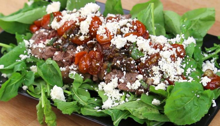 Vinaigretta soslu antrikot salatası nedir, nasıl yapılır ve gerekli malzemeler nelerdir?