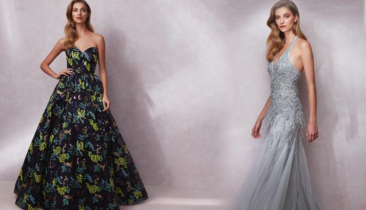 Oleg Cassini yeni gece elbisesi koleksiyonu 2018