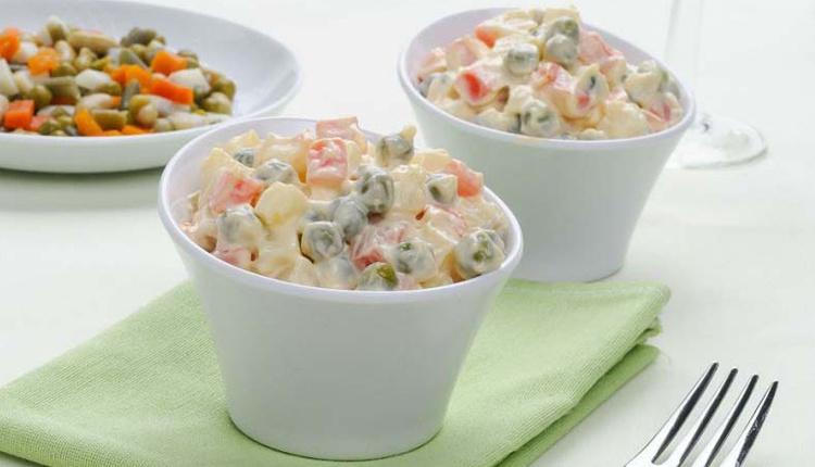 Rus Salatası nasıl yapılır malzemeleri nelerdir?