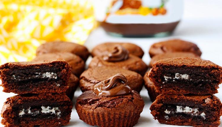 Oreolu brownie tarifi çikolatanın tadı damağınızda kalacak!
