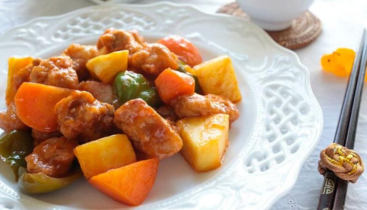 Tatlı ekşi soslu tavuk nasıl yapılır malzemeler nelerdir?