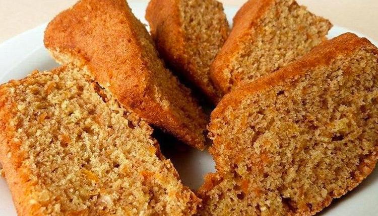 Elmalı havuçlu diyet kek tarifi bu kek size diyeti bozdurmayacak!