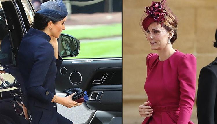 Meghan Markle ve Kate Middleton Prenses Eugenie'nin düğününde ne giydi?