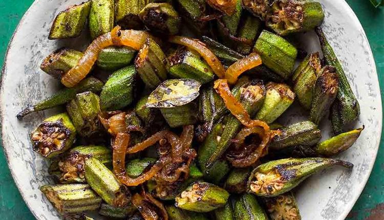 Izgara bamya nasıl yapılır zeytinyağ ve karabiberle harikalar yaratın!