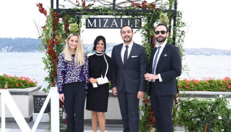 Mizalle'nin Four Seasons Otel'de gerçekleşen davete iş ve cemiyet hayatının ünlü isimleri katıldı