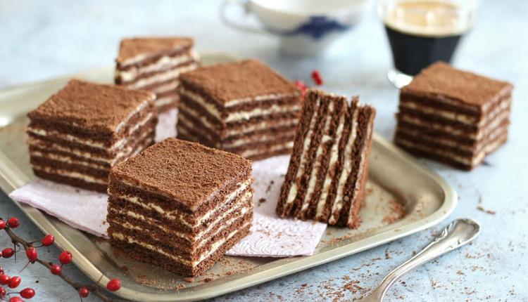 Marlenka pasta tarifi kat kat yumuşacık!
