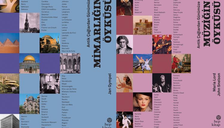 Toplumların tarihine ışık tutan 'Mimarlığın Öyküsü' ve Müziğin Öyküsü' kitabı 21 Aralık'ta raflarda!