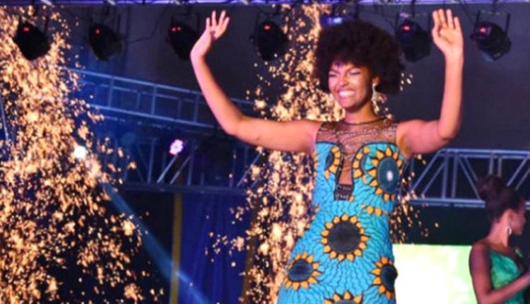 Güzellik yarışmasında birinci olan kadının saçları sahnede alev aldı!