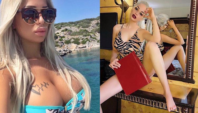 Merve Sanay'ın çıplak fotoğrafı sosyal medyaya damga vurdu!