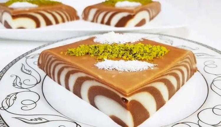 Binbir gece tatlısı tarifi sütlü tatlı sevenler bu lezzete bayılacak!