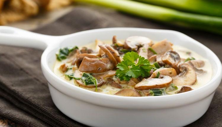 Kremalı mantar sote tarifi leziz mi leziz!