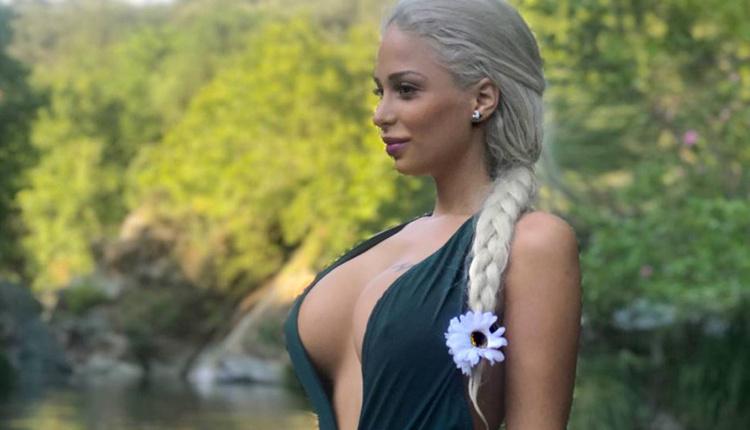 Merve Sanay'ın bikinili fotoğrafı sosyal medyada olay oldu!