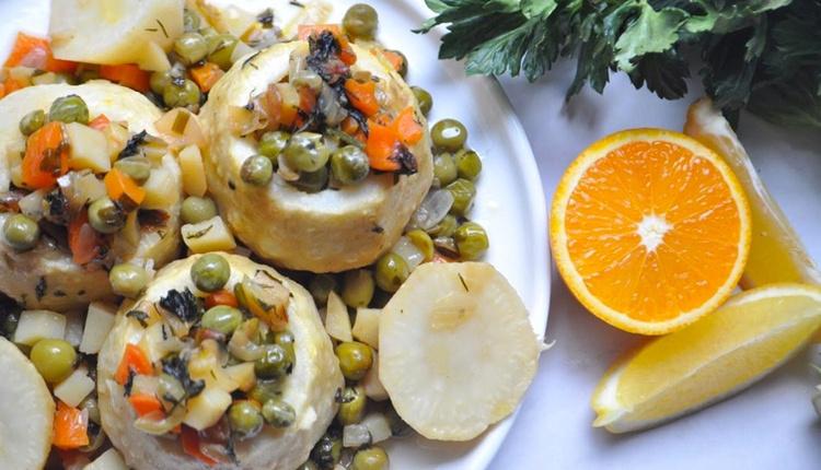 Portakallı kereviz dolması tarifi zeytinyağlı vazgeçilmez lezzet!