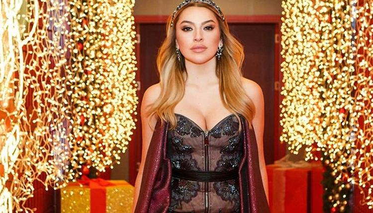 Hadise  derin göğüs dekolteli elbisesiyle Paris Moda haftasına damga vurdu!