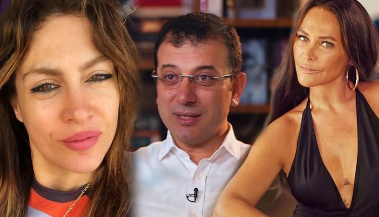 Tuğba Ekinci Hülya Avşar'ın Ekrem İmamoğlu paylaşımına destek verdi!