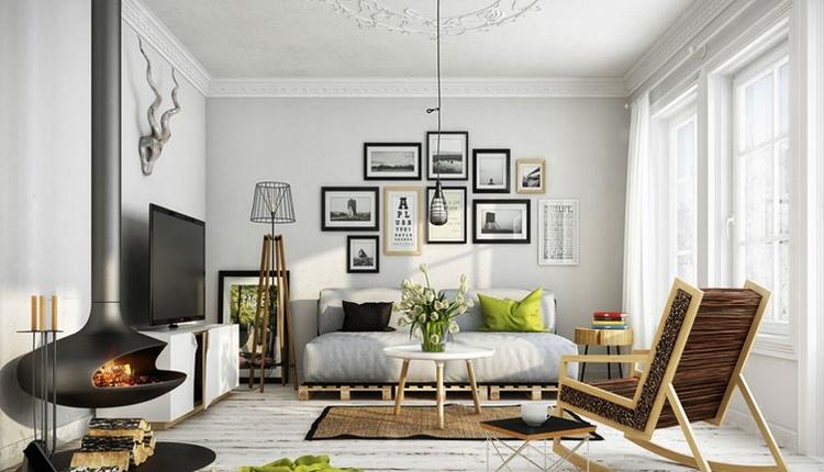 4 adımda oturma odası duvar dekorasyonu tüyoları!