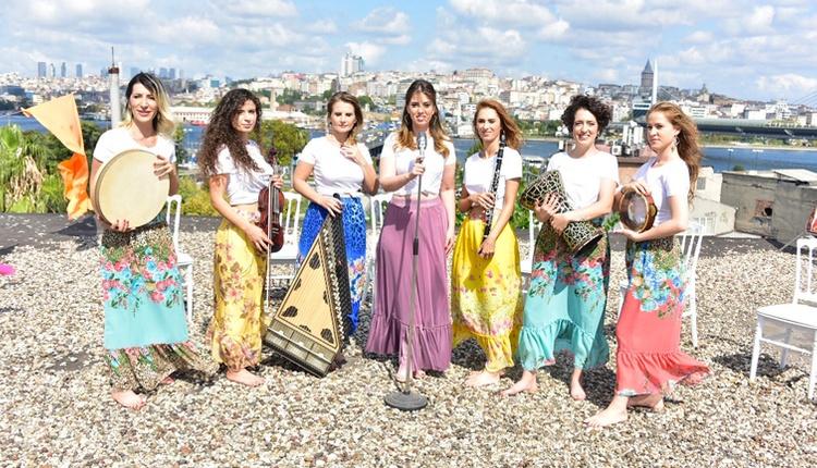 İstanbul Girls Orchestra Hünkar isimli şarkı ile müzik severlerle buluştu!