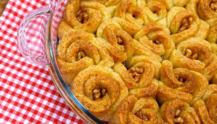 İrmikli gül tatlısı nasıl yapılır hem lezzetli hem ekonomik!
