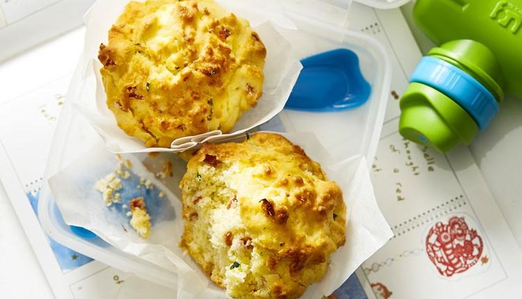 Salamlı muffin tarifini birde böyle deneyin!