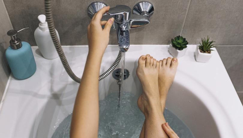 Haftada 3-4 kez sıcak suyla banya yaparsanız...