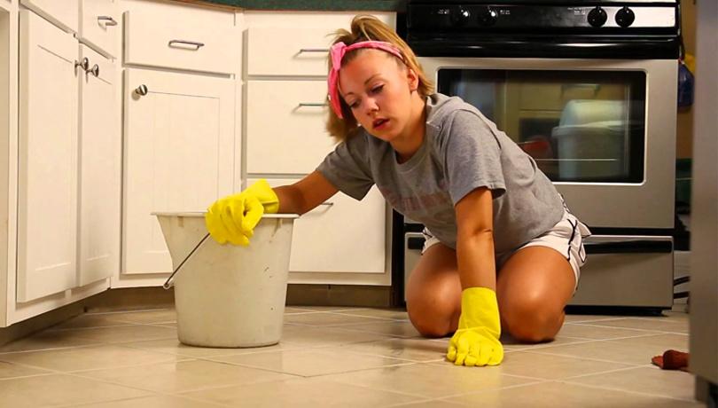 Evinizi temizlerken sağlığınızdan olmayın!