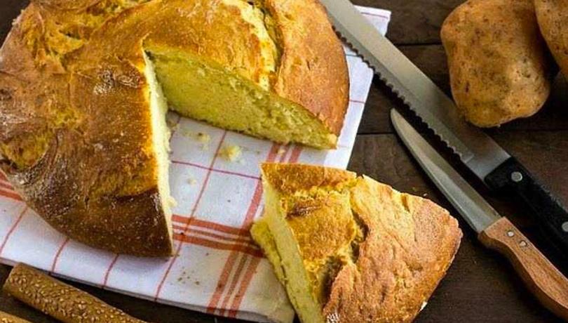 Kahvaltı için enfes tat: Patatesli ekmek tarifi