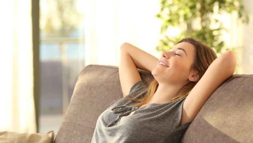 Evdeki gerginlikten kurtulmanın 2 basit yöntemi!
