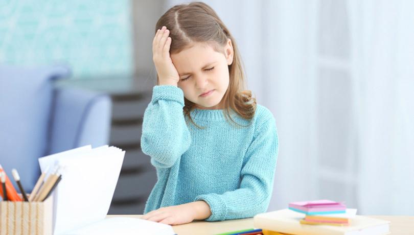 Çocuğunuz sık sık baş ağrısı çekiyorsa...