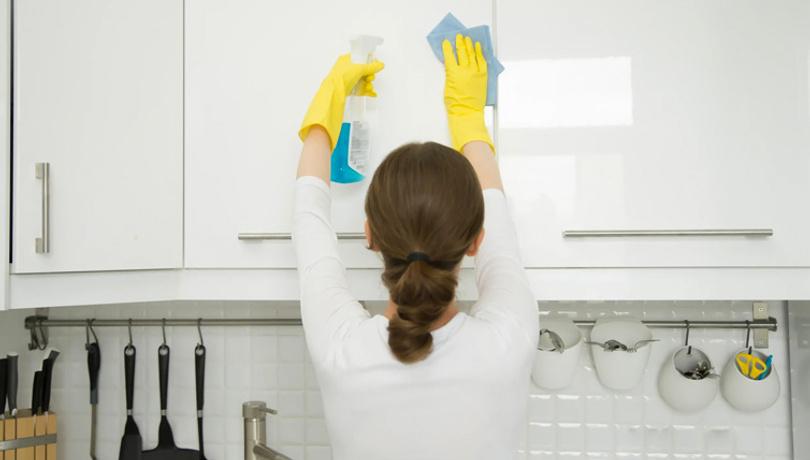 İşte mutfağınızın en fazla mikrop barındıran 4 yeri!