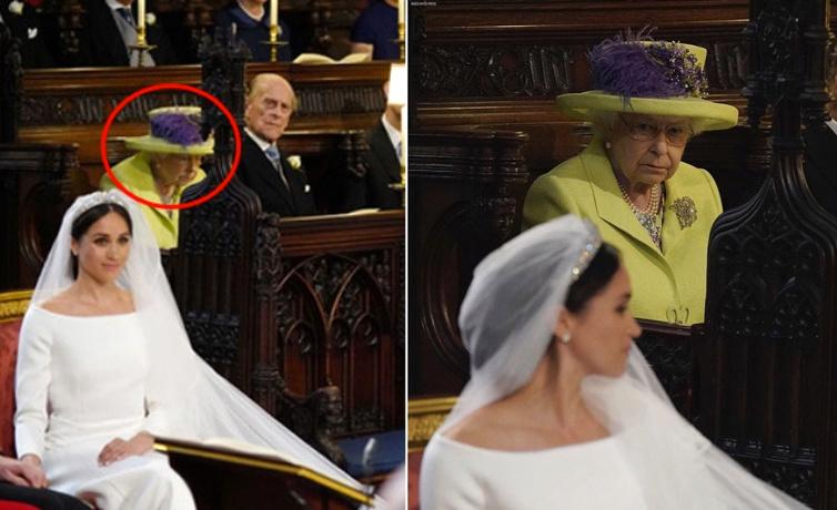 Meghan Markle'ın gelinliğinde kraliçeyi öfkeden deliye döndüren detay!
