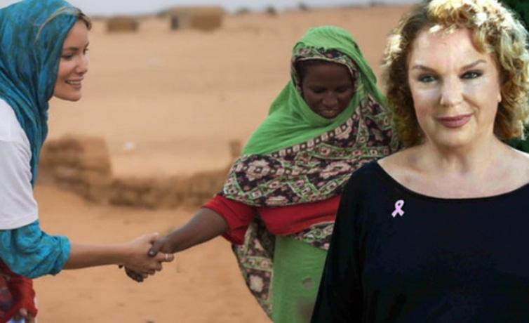 Selda Alkor Gamze Özçelik'e seslendi Afrika'yı bırakıp Türkiye ile ilglilen!