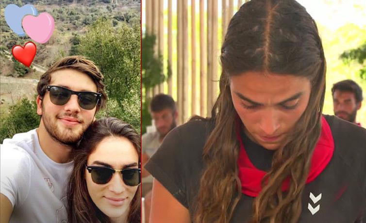 Survivor Melisa'nın sevgilisi Sertan kimdir ne iş yapıyor fotoğrafları ve mesajları