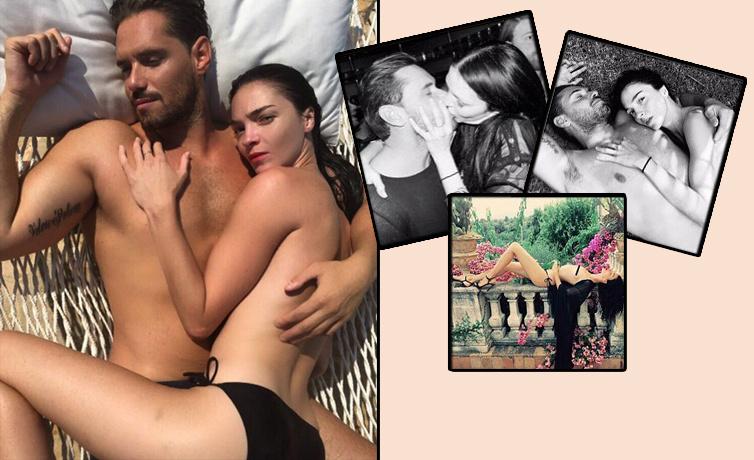 Şeyma Subaşı'nın sevgilisi Guido Seina'nın mahrem fotoğrafları