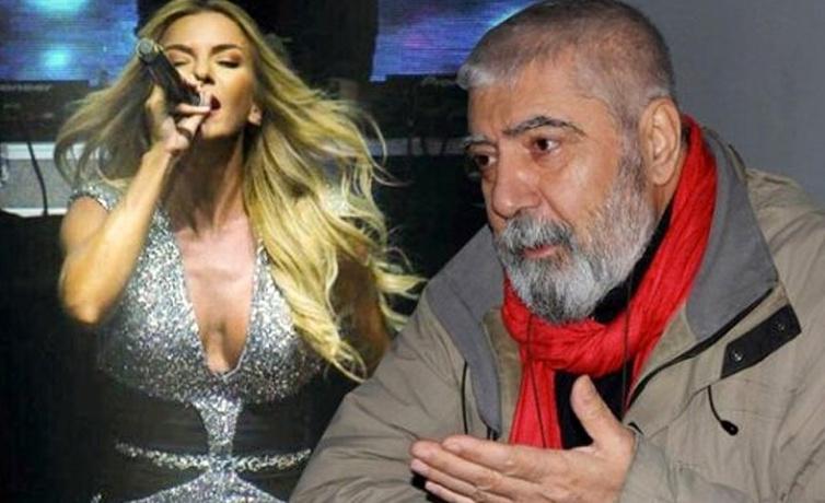 Ahmet Kaya'nın ağabeyi Kum Gibi şarkısını okuyan Ivana Sert'e destek oldu!